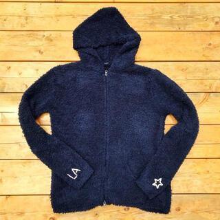 チャムス(CHUMS)の秋冬コーデ☆ LUSSO SURF 刺繍ボアパーカー Mサイズ ベアフット(パーカー)