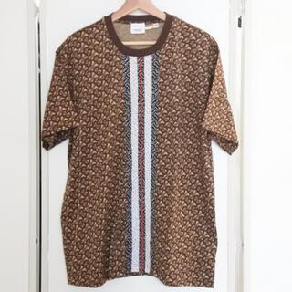 BURBERRY - バーバリー Tシャツ 半袖 ブラウン モノグラム L ユニセックス 2019年