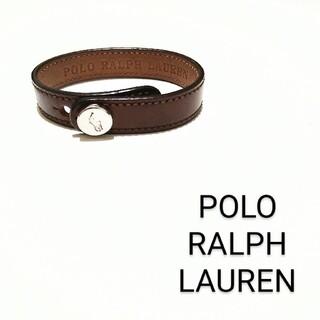 POLO RALPH LAUREN - 未使用【POLO RALPH LAUREN】レザーブレスレット