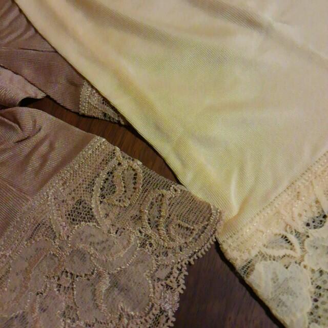 スヌー様 シルクニット三分丈ショーツ2枚 レディースの下着/アンダーウェア(アンダーシャツ/防寒インナー)の商品写真
