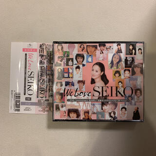 We Love SEIKO 松田聖子究極オールタイムベスト CD