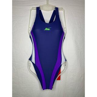 FEW  競泳水着 水着 2XL 紺紫白 スクール水着 他サイズございます