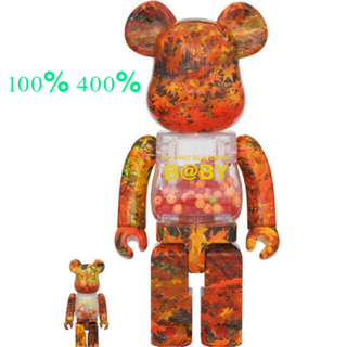 MEDICOM TOY - MY FIRST BE@RBRICK B@BY AUTUMN LEAVES