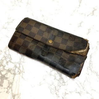 LOUIS VUITTON - 正規品✨ルイヴィトンダミエ長財布、即日発送‼️
