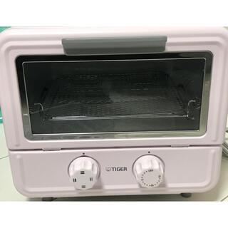 タイガー(TIGER)のぷちはこオーブントースターピンクタイガー魔法瓶 KAO-A850(P)(調理機器)