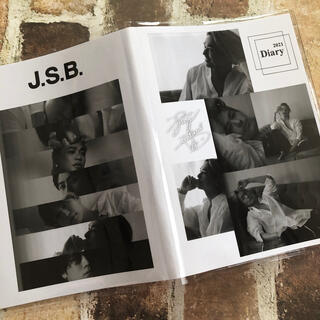 サンダイメジェイソウルブラザーズ(三代目 J Soul Brothers)の今市隆二 スケジュール帳 月刊 SALE中(手帳)