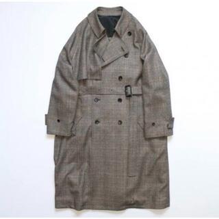 SUNSEA - stein 19awLay Oversized Overlap Coat