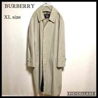BURBERRY - BURBERRY バーバリー ステンカラーコート 大きめ