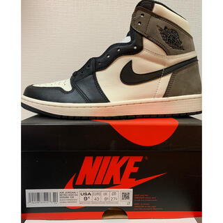 NIKE - NIKE AIR JORDAN 1 RETRO HIGH Dark Mocha