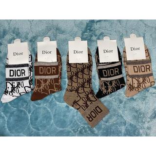 Christian Dior - Dior 靴下5枚セット女性用新品未使用