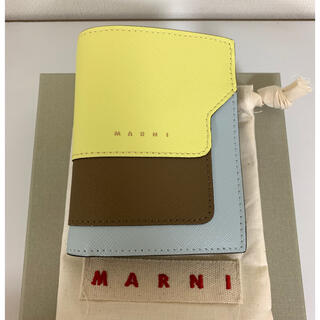 Marni - MARNI マルニ スモール 財布 2つ折り ミニ財布 レアカラー