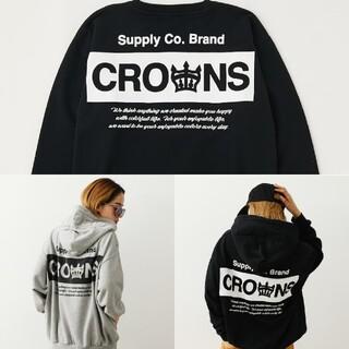 ロデオクラウンズワイドボウル(RODEO CROWNS WIDE BOWL)のエンボスあれこれ(スウェット)