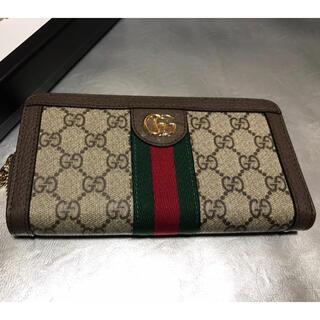 Gucci - グッチ ジップアラウンド長財布 OphidiaGG コンチネンタルウォレット