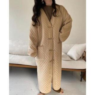 TODAYFUL - lawgy original V quilting coat