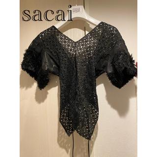 サカイ(sacai)のsacaiトップス(カットソー(半袖/袖なし))