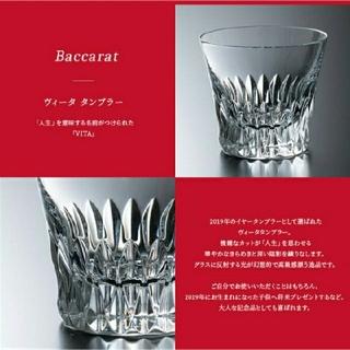 Baccarat - バカラ ヴィータ ペア タンブラー グラス 2019