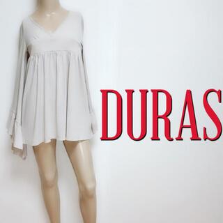 DURAS - お尻隠し♪デュラス 鬼ワイドスリーブ きれいめチュニック♡デイライル ダチュラ