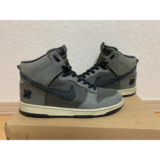 NIKE - NIKE dunk hi ダンク undefeated アンディフィーテッド