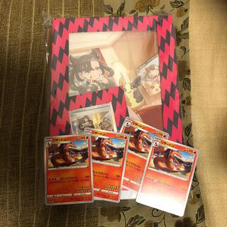 ポケモン - マリィの練習 プロモカード リザードン4枚セット