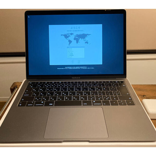 Mac (Apple) - MacBook Air  2018 256gb 充放電23回 美品