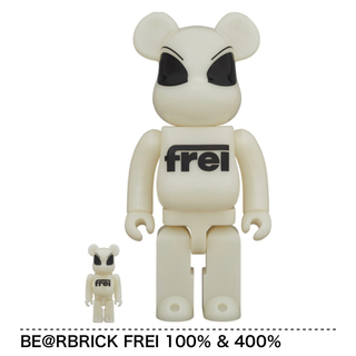 MEDICOM TOY - BE@RBRICK FREI 100% & 400%