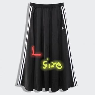 adidas - 新品 adidas アディダス Lサイズ ウエストゴム ロング スカート