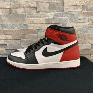 27cm AIR JORDAN1 RETRO HIGH OG Black Toe