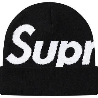 Supreme - supreme Big Logo Beanie 新品ブラック