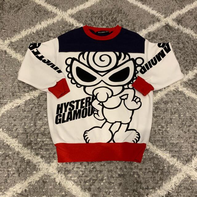 HYSTERIC MINI(ヒステリックミニ)のヒステリックミニ 100cm トレナー キッズ/ベビー/マタニティのキッズ服男の子用(90cm~)(Tシャツ/カットソー)の商品写真