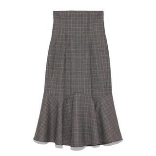 snidel - SNIDEL   マーメイドミドルスカート マーメイドスカート