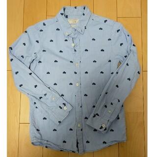 ザラキッズ(ZARA KIDS)のZARA KIDS シャツ カッターシャツ  青140cm(Tシャツ/カットソー)