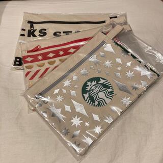 Starbucks Coffee - スターバックス ホリデーポーチ 2020 3個セット