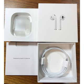 Apple - AirPods 第二世代 極美品 付属品付き