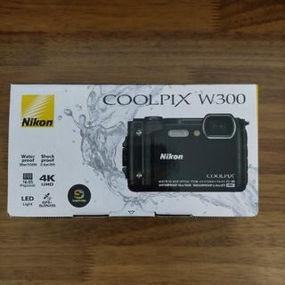 Nikon - ニコン Coolpix w300(ブラック)