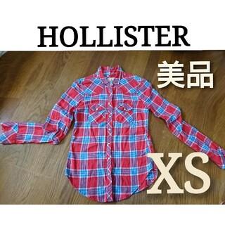 Hollister - HOLLISTER ホリスター レディース チェック シャツ XS ネルシャツ
