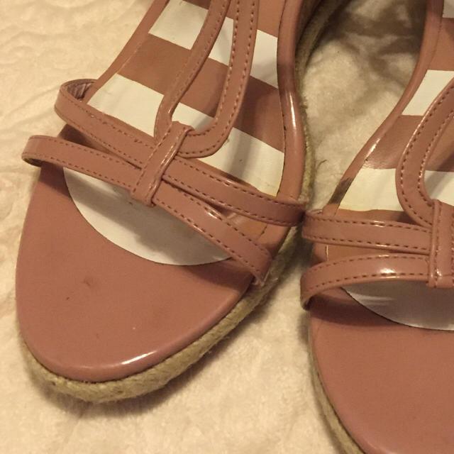earth music & ecology(アースミュージックアンドエコロジー)の美脚サンダル♡ピンクベージュ♡ レディースの靴/シューズ(サンダル)の商品写真