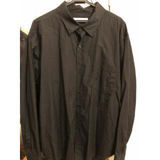 Yohji Yamamoto - sulvam 切りっぱなし長袖シャツ