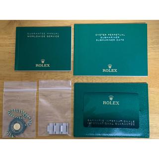 ROLEX - ② 美品 ロレックス サブマリーナ 126610LV グリーンサブ 付属品完備