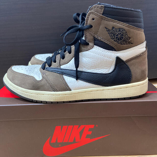 NIKE - travis scott air jordan1