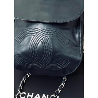 CHANEL - 本物シャネルのリュック♡濃紺