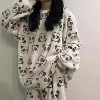 韓国 パジャマ 服 レディース 冬服 長袖