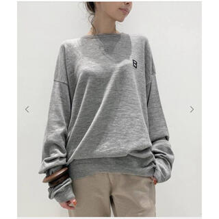 L'Appartement DEUXIEME CLASSE - L'Appartement  BILLY/ビリーB  SWEATER グレー