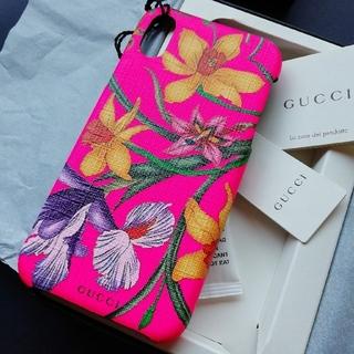 Gucci - 正規店購入 グッチ iPhoneケース X/XS  新品、箱ショッパー付き