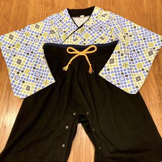 ベビー袴ロンパース 80サイズ