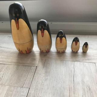 ペンギン アフリカ マトリョーシカ