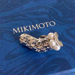 ミキモト(MIKIMOTO)のミキモト925ピンバッチ(ブローチ/コサージュ)