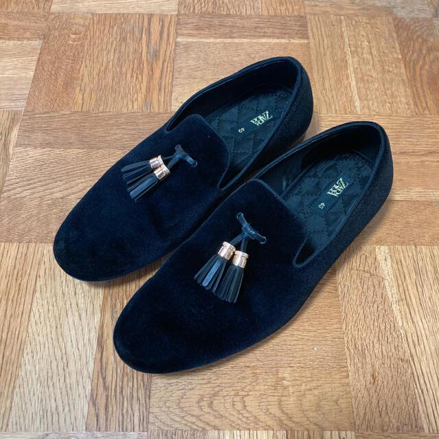 ZARA(ザラ)のZARA タッセル付き ベルベットモカシン 即購入◎ メンズの靴/シューズ(スリッポン/モカシン)の商品写真