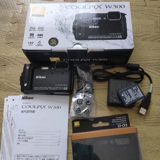 Nikon - Nikon デジタルカメラ COOLPIX W300 BK クールピクス 160