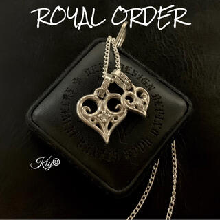 ROYALORDER - 総額5万↑↑★ROYAL ORDER【ロイヤルオーダー】ハートペンダント ダイヤ