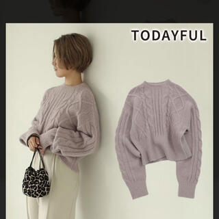TODAYFUL - TODAYFUL♡Soft Cable Knit ソフトケーブルニット